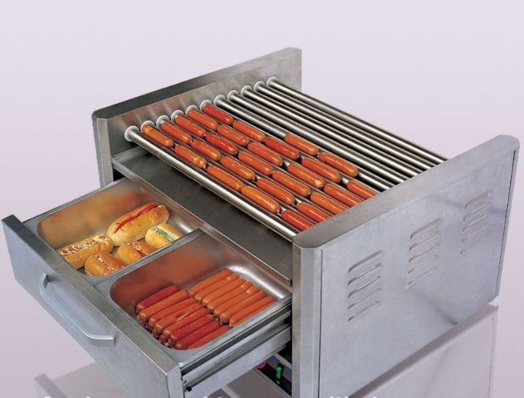 hot dog machine with warming drawers brand new. Black Bedroom Furniture Sets. Home Design Ideas