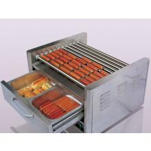 Hot dog machine with warming drawers1