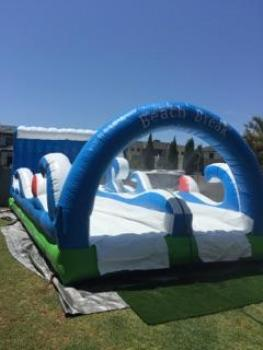 Beach Break jumping castle waterslide