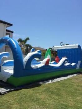 Beach Break waterslide side shot
