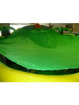 T Rex Dinosaur Jumping Castle Roof covers