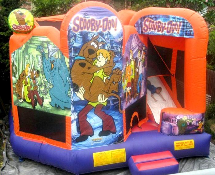 Scooby Doo 5 In 1 Brisbane Jumping Castle